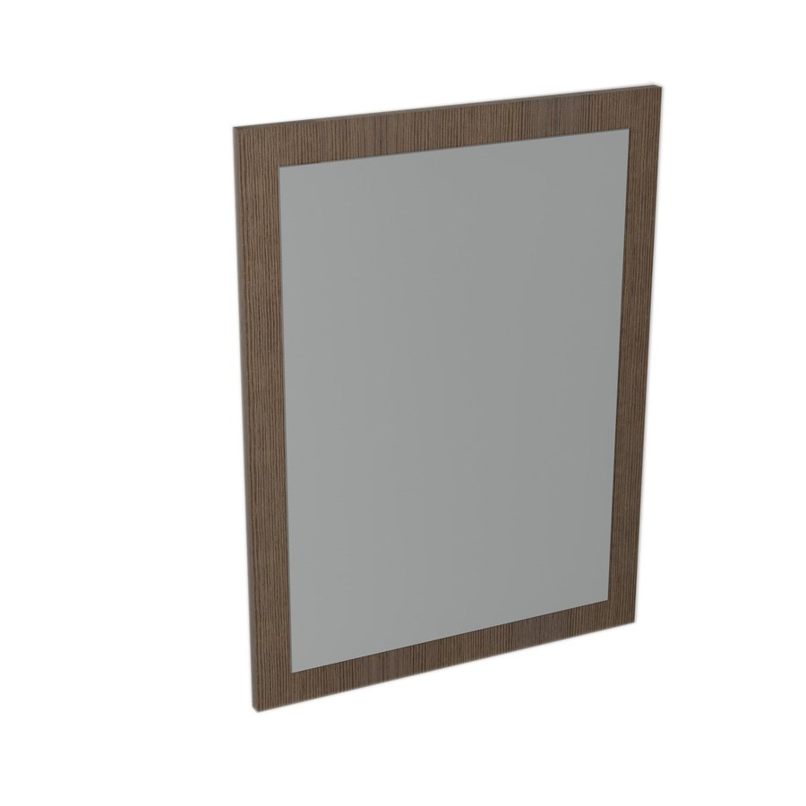 LARGO mirror with frame 600x800x28mm, Pine Rustic