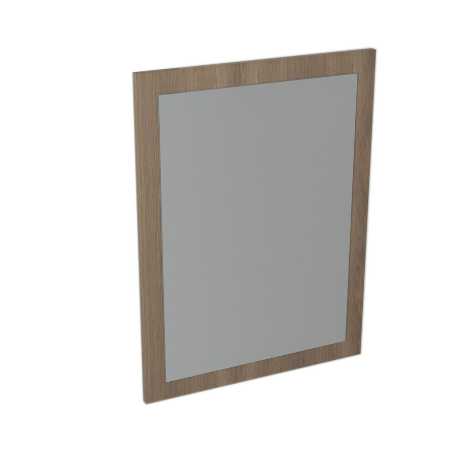 LARGO mirror with frame 600x800x28mm, Walnut