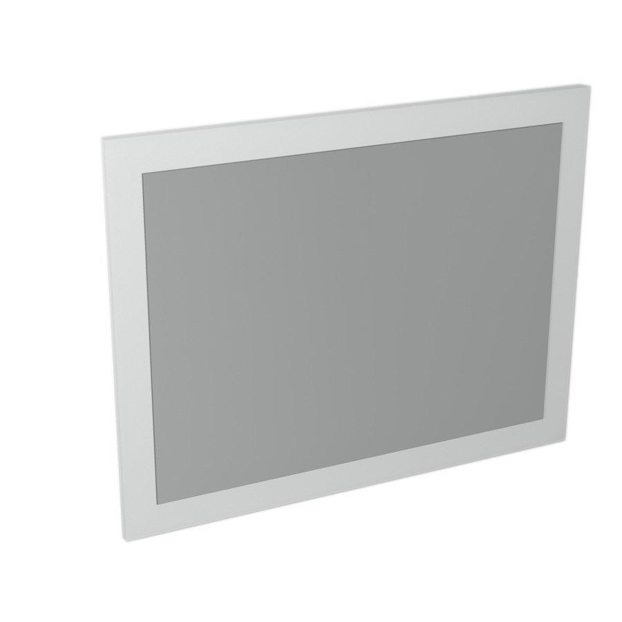 LARGO mirror with frame 700x900x28mm, White